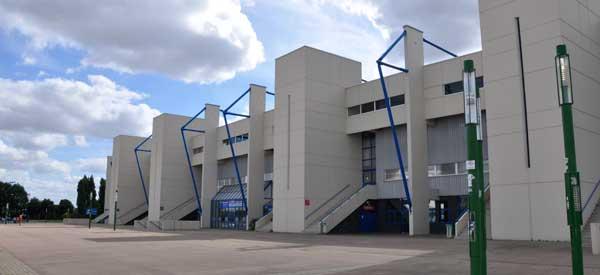 Stade D'Ornano's main stand