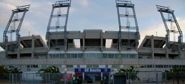 Main entrance of Stade Cesari