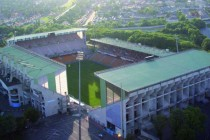 stade felix bolleart from above