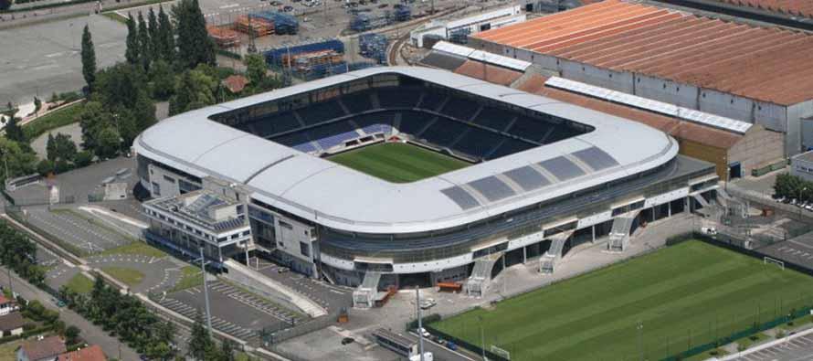 Aerial View of Stade Bonal