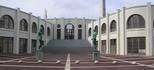 Main entrance Stade Chaban Delmas