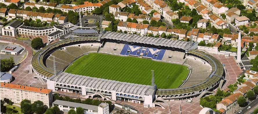 Aerial view of Stade Chaban Delmas