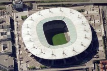 Aerial view of Stade de france