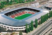Aerial view of Geneva's Stadium