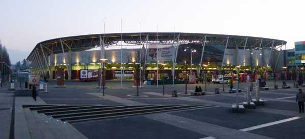 A dusky Stade de Geneve