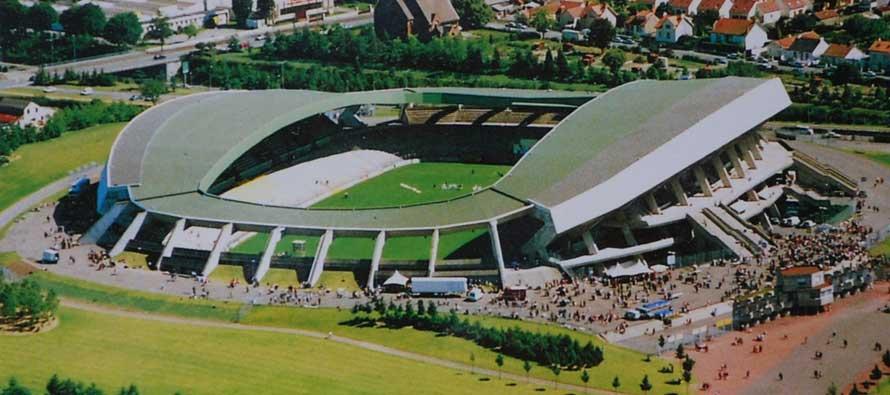Inside Stade De La Beaujoire on matchday