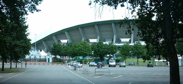 Stade de la Beaujoire exterior