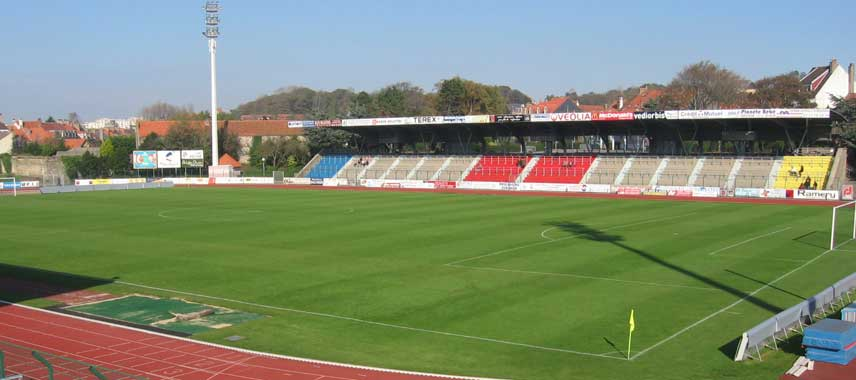 Main stand of Stade de la Liberation