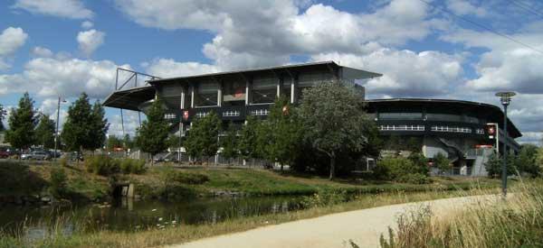 External view of Stade de la Rouite Lorient