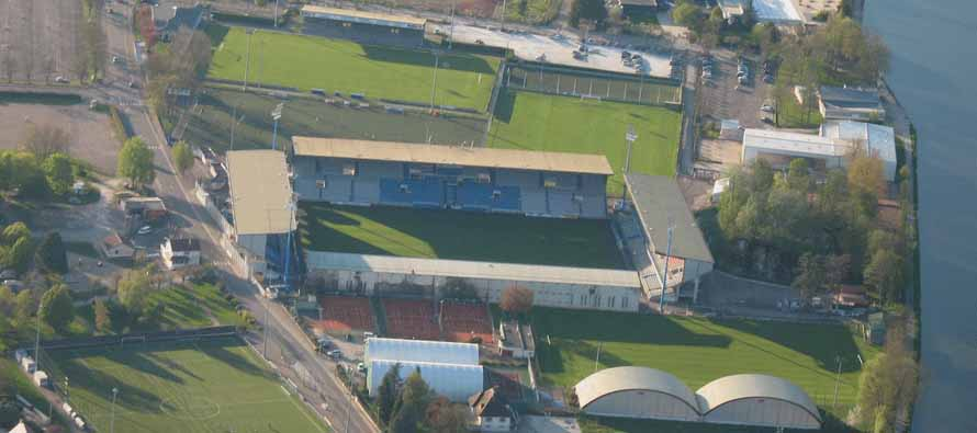 aerial view stade de l'abbe deschamps