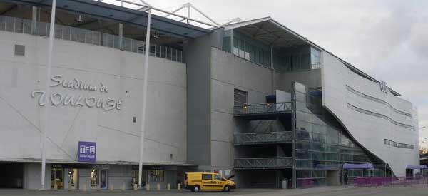 Stade de Toulouse exterior
