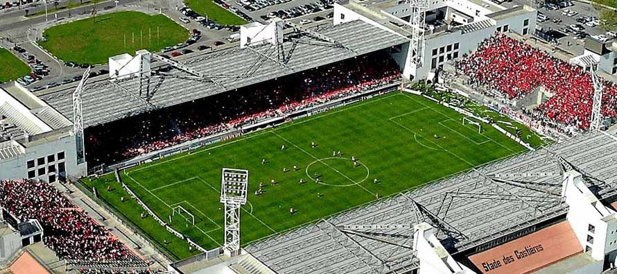 Aerial view of Stade DeS Costieres