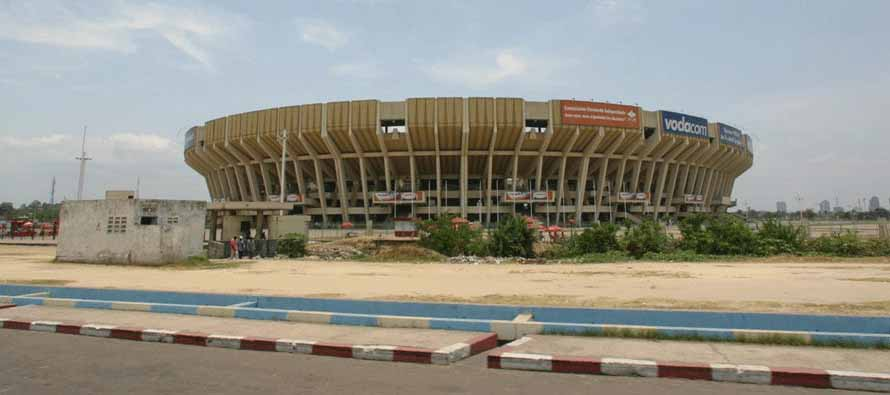 Exterior of Stade Des Martyrs