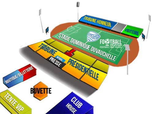 Stade Dominique Duvauchelle map