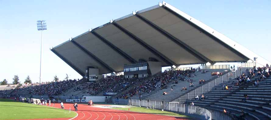 Stade Dominique Duvauchelle main stand