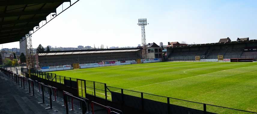 Inside an empty Stade du Pairay