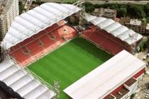 Aerial view of Stade du Pays De Charleroi