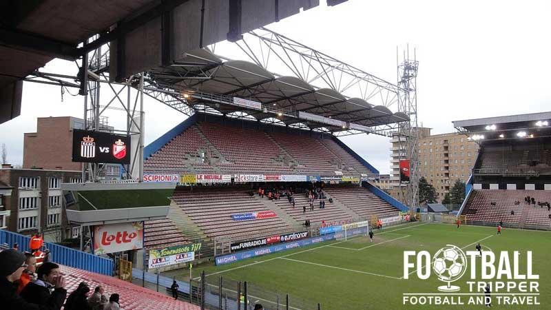 Stade du pays de charleroi r charleroi sc football tripper for Stand belgique