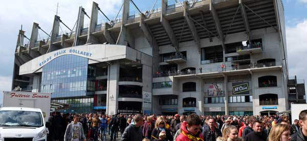 Outside main stand of Stade Bollaert