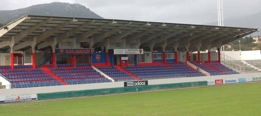 Stade Francois Coty Main Stand