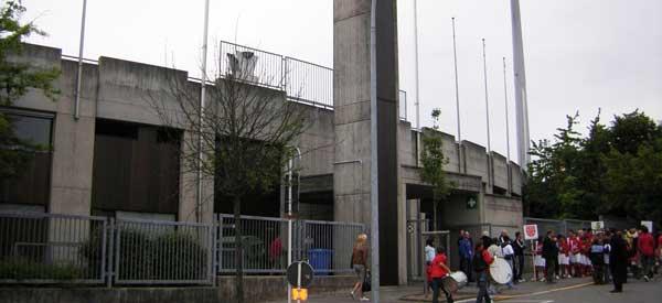 Stade Josy Barthel exterior view