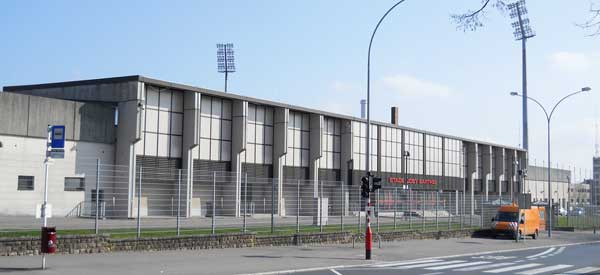 Entrance for Stade Josy Barthel