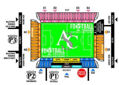 Stade de la Licorne Seating Chart