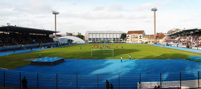 View of Stade Marcel Tribut from the goal
