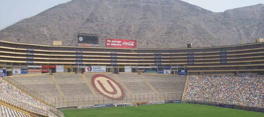 Mountain View Inside Stade Monumental Peru