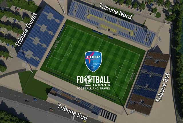 Stade Municipal de Péronnas map
