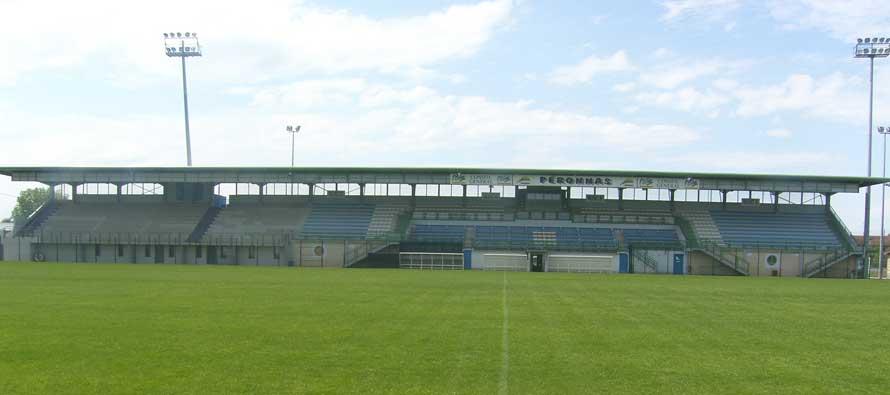 Main stanf of Stade Peronnas