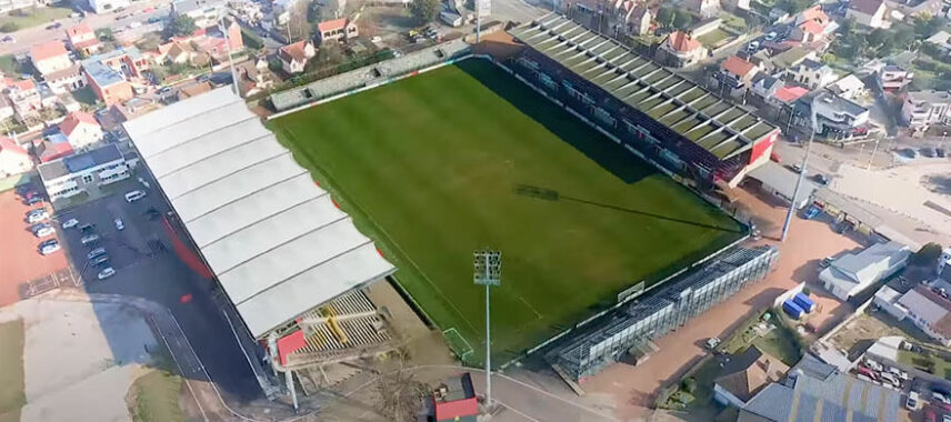 Stade Robert Diochon from the sky