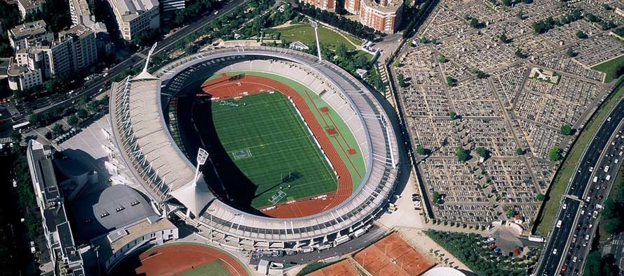 Overview of Stade Sebastien Charlety