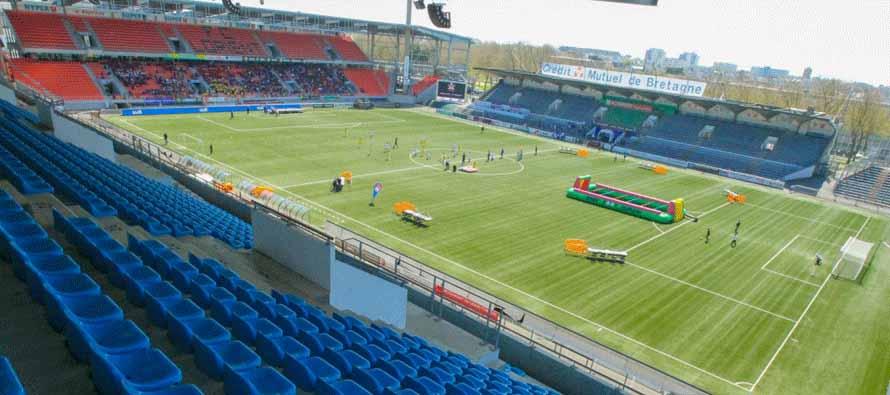 Inside Stade Yves Allainmat