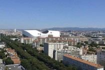 A distant view of Stade Velodrome