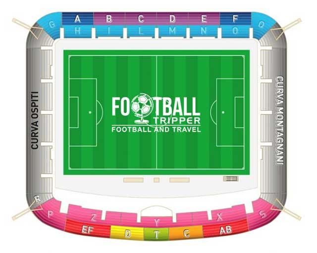 Stadio Alberto Braglia seating chart