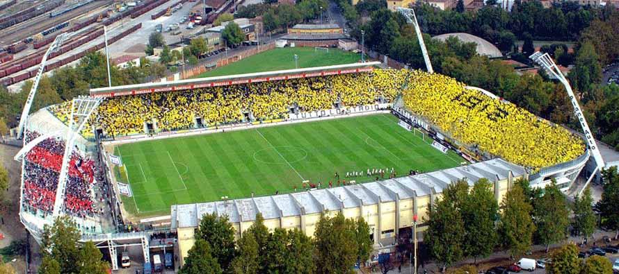 Aerial View of Stadio Alberto Braglia