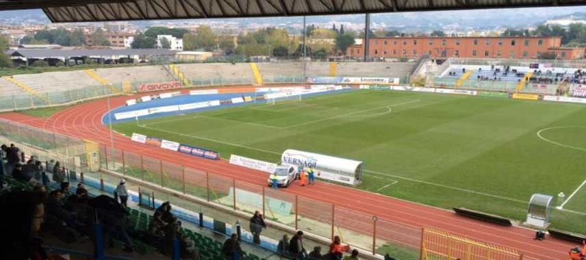View from the stands in Stadio Alberto Pinto