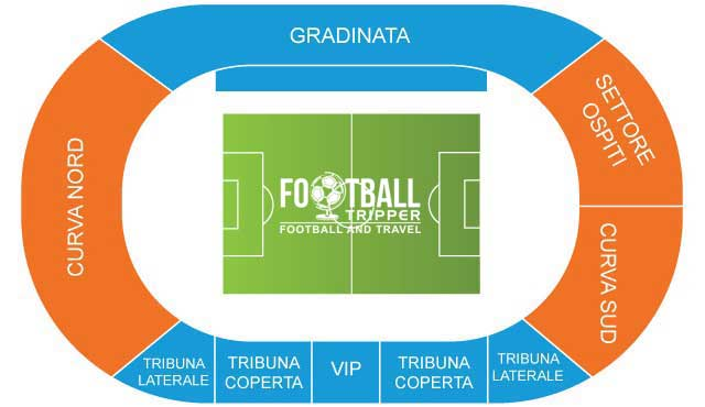 Stadio armando picchi Seating Plan