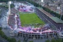 Aerial View of Stadio Artemio Franchi