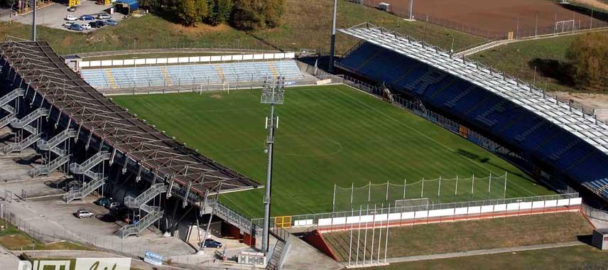 Aerial view of Centro D'Italia - Manlio Scopigno