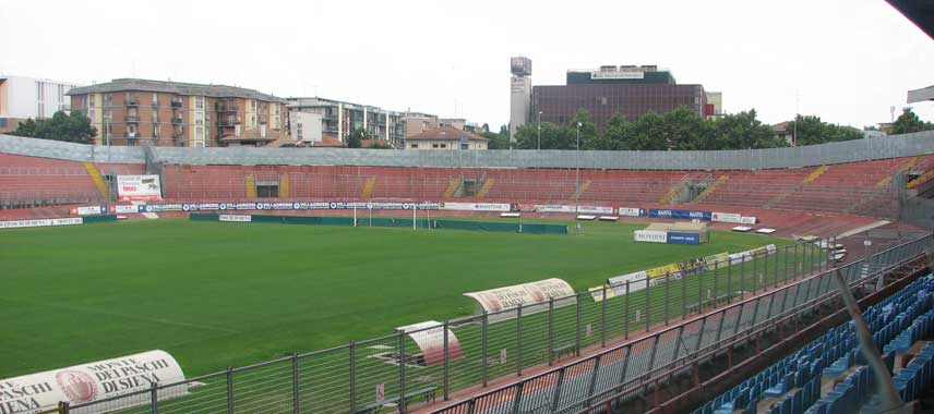Inside Stadio Danilo Martelli