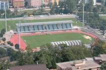 Aerial view of Stadio Cornaredo