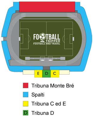 Stadio di Cornaredo seating chart