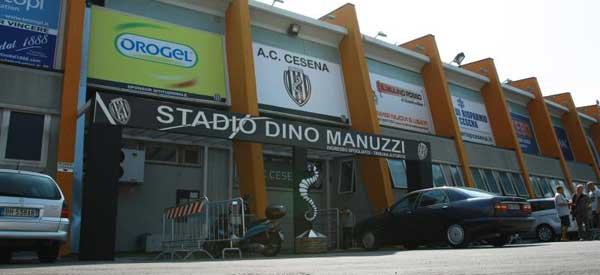 Exterior of Dino Manuzzi Station