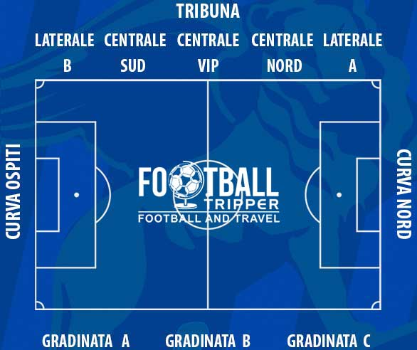 Stadio domenico francioni Seating Plan