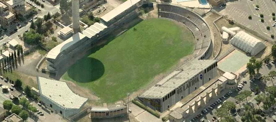 Aerial View of Stadio Domenico Francioni
