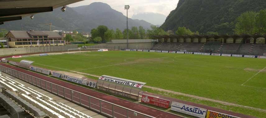 Mountain view of Stadio Druso