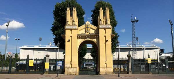 Main entrance Ennio Tardini Stadium