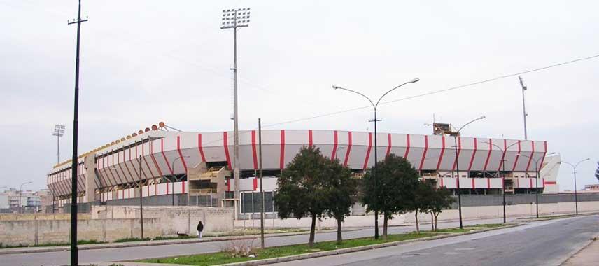 Exterior of Stadio Erasmo Iacovone